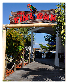 Tiki Bar and Grill, Okeechobee Florida
